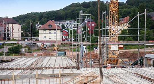 Baustelle Alte Posthalterei Landstuhl