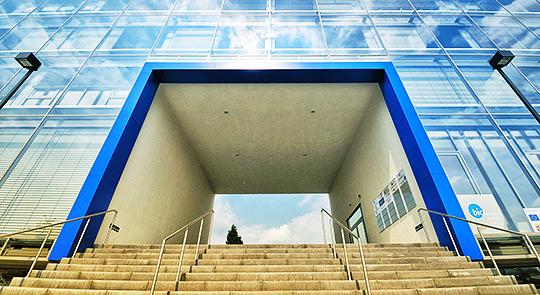 BIC Kaiserslautern Architektur Treppe